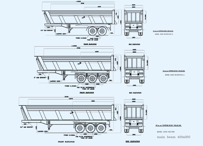 What Are The Dimensions Of A Semi Truck : Kb jpeg tractor trailer dimensions